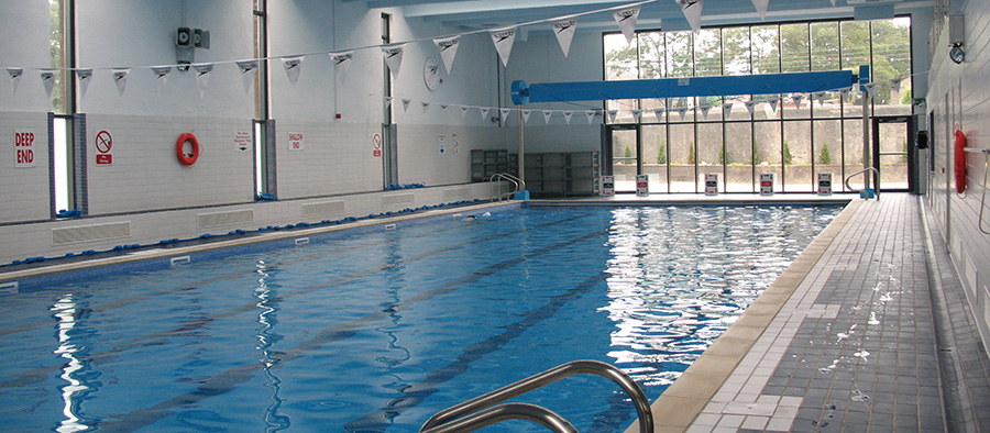 about us terenure college swimming pool